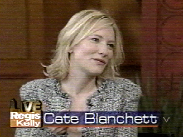 TV Watch: Cate Blanchett on Live! With Regis and Kelly - 640x480, 163kB