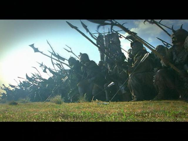 Return of the King PC Game Movie Footage - Orc Army - 640x480, 36kB