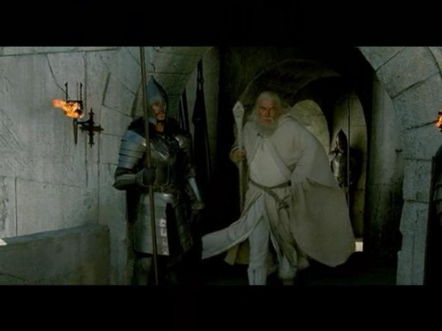 Return of the King PC Game Movie Footage - Gandalf - 640x480, 25kB