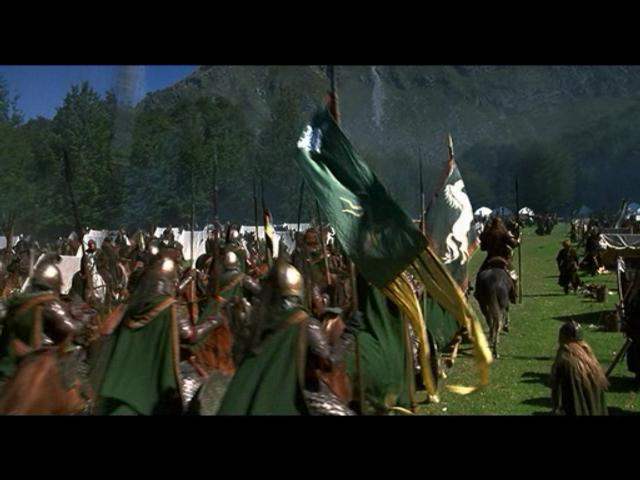 Return of the King PC Game Movie Footage - March to Battle - 640x480, 37kB
