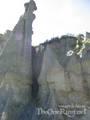 Inside The Putangirua Pinnacles - (600x800, 79kB)