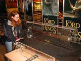 LOTR Props Display at Toys R Us in Times Square - (800x600, 112kB)