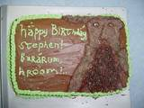 Treebeard birthday cake - (800x600, 140kB)