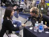 Dom is interview by eXtra in between autographs. - (800x600, 109kB)