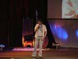Sandro Kopp on stage - (800x600, 75kB)