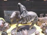 Nazgul on Horseback Statue from Sideshow Toy - (533x400, 42kB)
