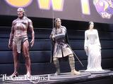 Lurtz, Aragorn & Arwen Sideshow Toy Statues at Comic-Con 2001 - (533x400, 40kB)