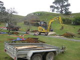 Rebuilding Hobbiton - Fruit trees being planted. - (640x480, 118kB)