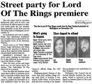 Street party in Wellington at New Zealand premiere of The Fellowship of the Ring - (800x724, 146kB)