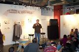 Sean Astin on stage at Storyopolis - (800x531, 99kB)