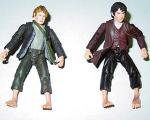Sam and Frodo figures from FOTR Toybiz - (500x400, 72kB)