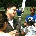 Sean Astin at the Mad Anthony's Celebrity Pro-Am in Ft. Wayne, IN - (359x362, 36kB)