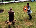 Warrior Fans at Mittelerde-Fest (Middle-earth festival) in Switzerland - (477x374, 49kB)