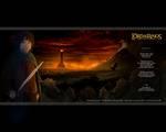 Frodo Wallpaper From TTT DAK - (800x640, 65kB)