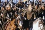 Legolas And Rohirrim Riders - (800x540, 114kB)
