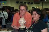 Richard Taylor, Gollum and Fan - (800x530, 95kB)
