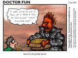 Dr. Fun Goofs on Sauron - (640x480, 79kB)