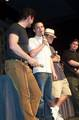 Andy Serkis, Elijah Wood and Sean Astin - (530x800, 80kB)