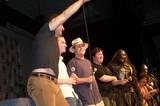 Andy Serkis, Elijah Wood, Sean Astin, WETA and Sala Baker - (800x530, 78kB)