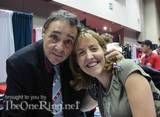 John Rhys-Davies with Another Fan! - (500x367, 44kB)