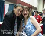 John Rhys-Davies and an excited fan! - (500x399, 52kB)