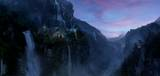 Rivendell Matte Painting - (800x381, 48kB)