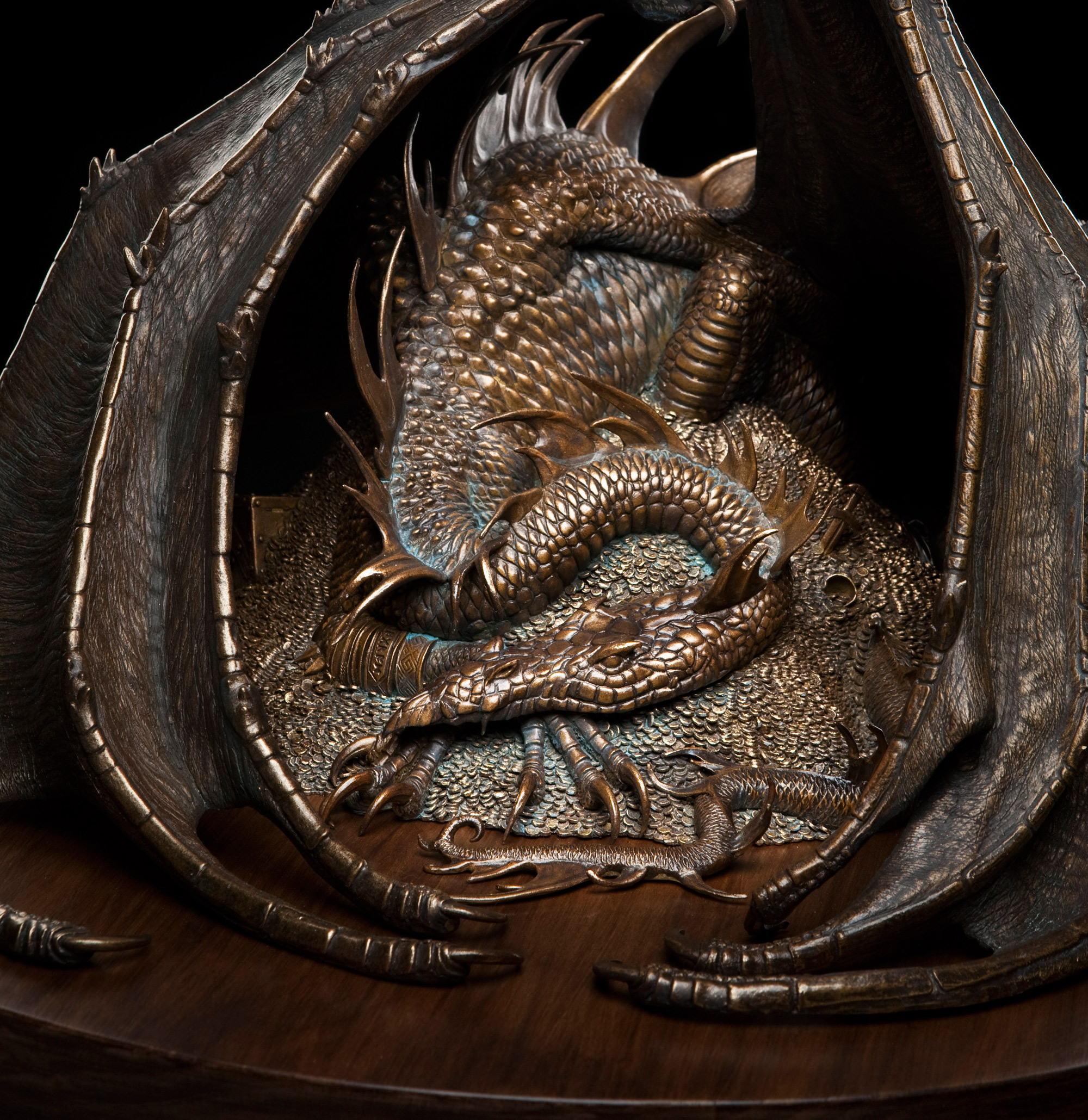 Image result for John Howe Smaug the Golden