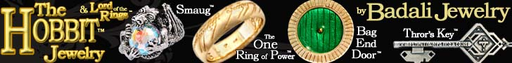 Hobbit and The Lord of the Rings Jewelry from Bad Ali Jewelry