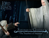 Gandalf vs Saruman