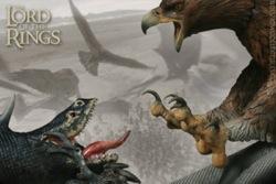 Fell Beast VS Eagle Diorama