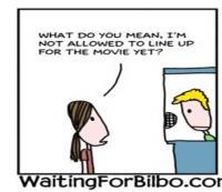 Waiting for Bilbo