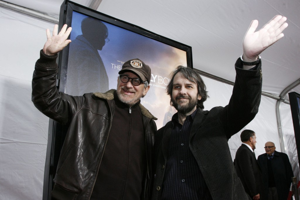 Executive Producer Steven Spielberg & Director Peter Jackson