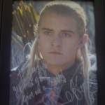 Orlando Bloom Legolas Signed