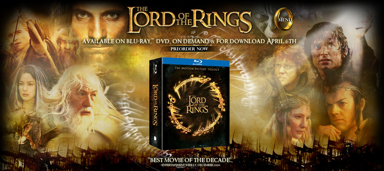Lotr official movie site