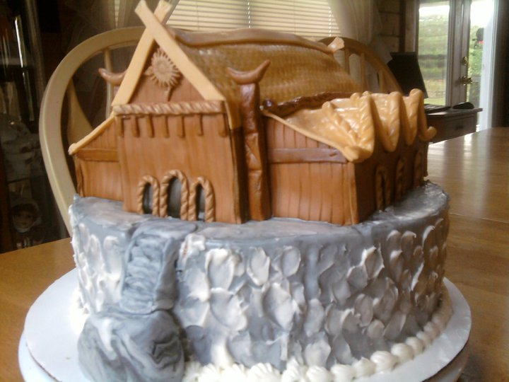 Cake Images With Name Rohan : Impressive Edoras Birthday Cake Hobbit Movie News and ...