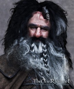 Wiliam Kircher as Bifur in The Hobbit