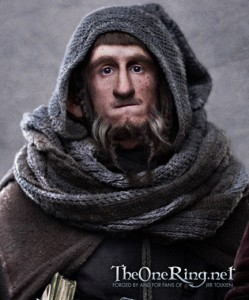 Adam Brown as Ori in The Hobbit