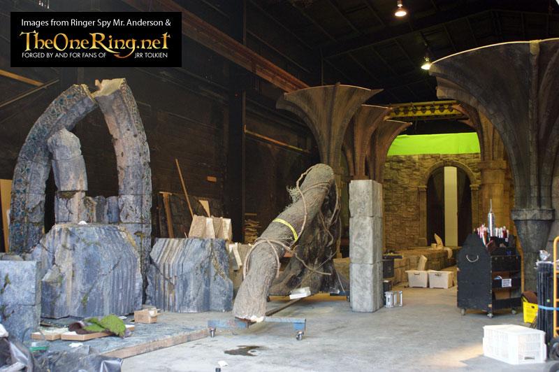 The Hobbit Miramar Set Pics