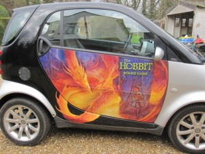 The Hobbit Board Game Smart Car