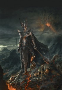 Sauron by Jerry VanderStelt