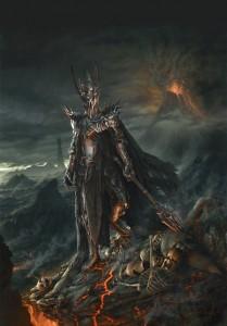 Sauron by Jerry VanderStelt