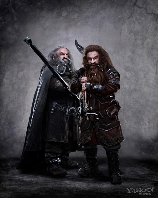 Oin and Gloin Revealed in Latest Hobbit Film Photo