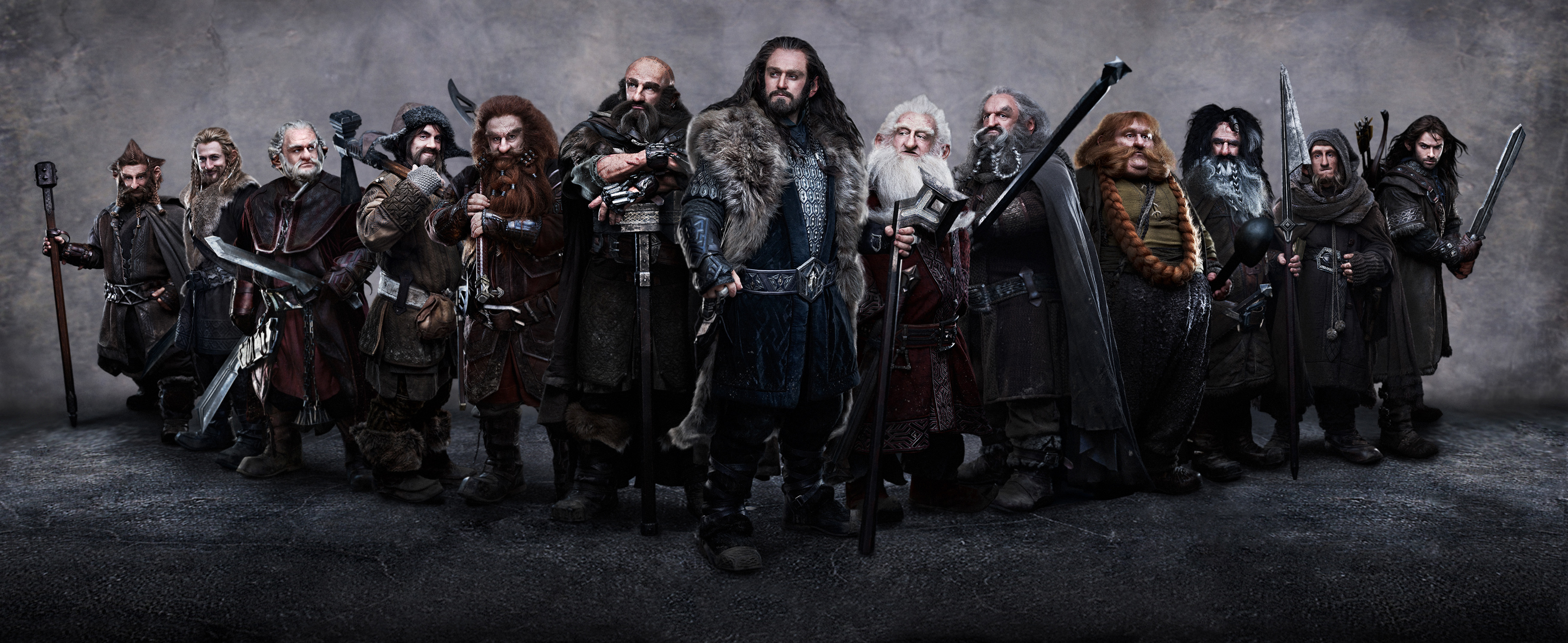 Peter Jackson Hobbit Dwarves First Image