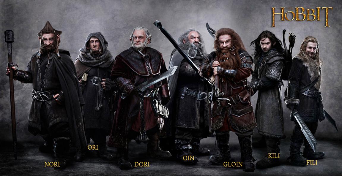 Bilbo le hobbit - le film WideDwarves07121