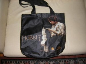 Hobbit bag from MIPCOM