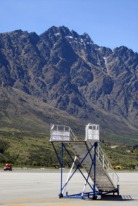Queenstown airport in New Zealand was named one of the top 10 most stunning places to land.