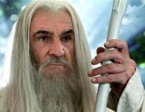 Sean Connery as Gandalf the White