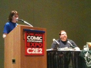 C2E2 presentation on the Hobbit