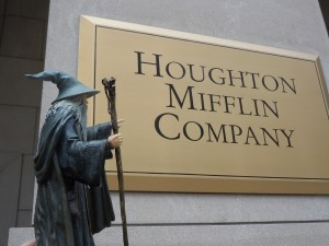 Fandalf visits the heart of Tolkiendom in America - Houghton Mifflin's HQ, Boston