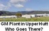 GM Plant in Upper Hutt